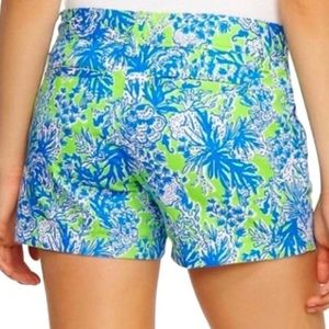 Lilly Pulitzer The Walsh Short Blue Green